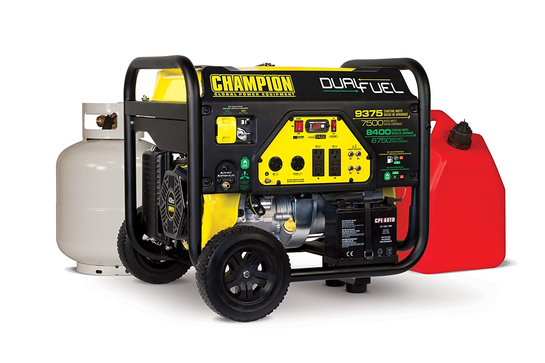 Champion Generator 6500 Parts Diagram 37 Wiring Images 196cc Sl1500 Amazon Com 7500 Watt Dual Fuel Portable With