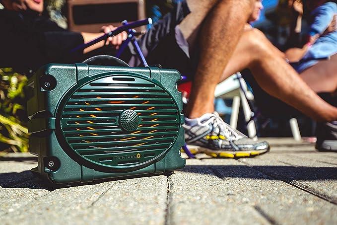 Turtlebox: LOUD! Outdoor Rugged Bluetooth Speaker ~ 50+ Hour Charge | IP67 Waterproof & Dustproof