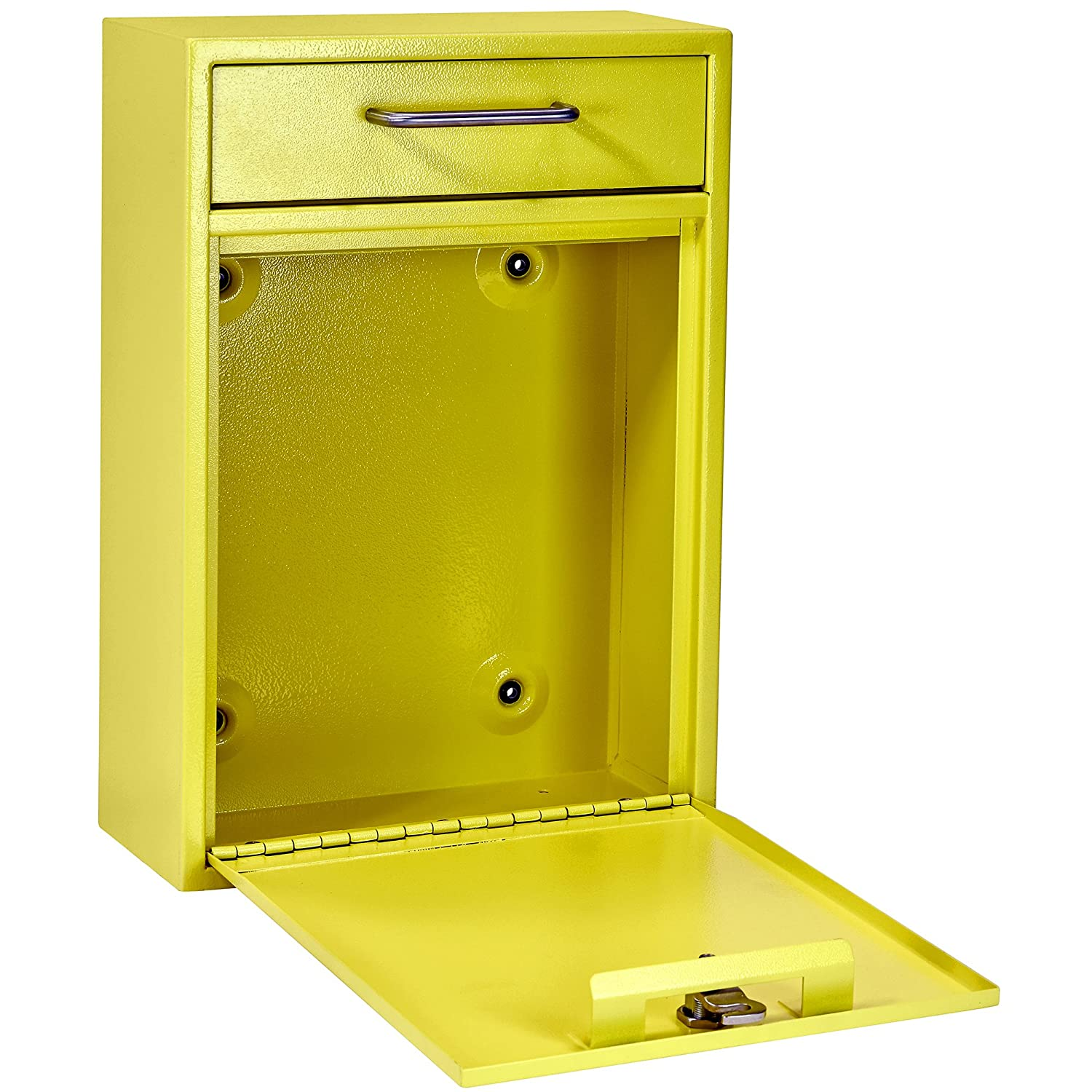 Mail Boss 7423 High Security Steel Locking Wall Mounted Mailbox ...