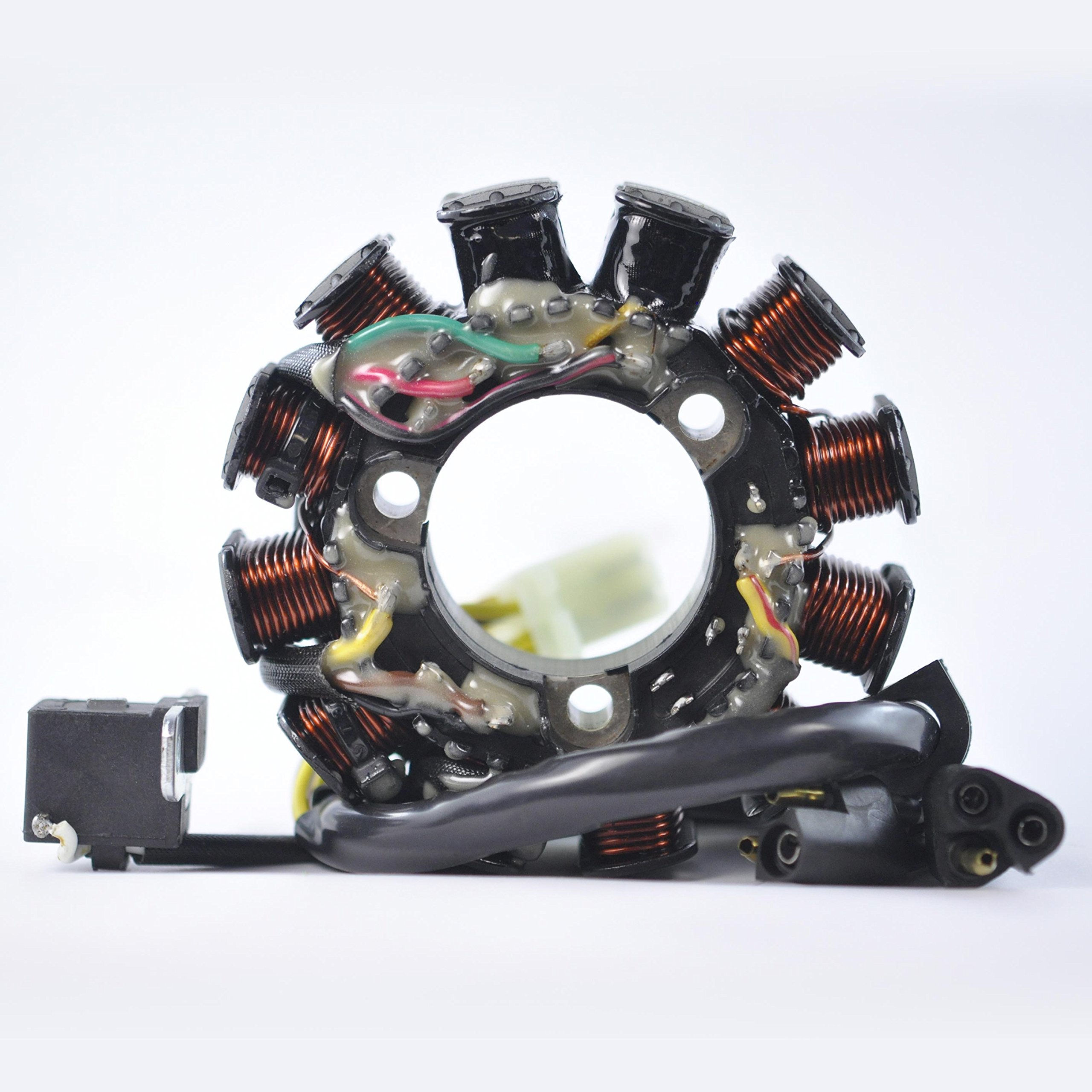 Stator For Polaris Pro X Classic IQ Shift Edge LX Supersport Trail RMK / Touring Transport 440 550 Carb F/C 2002-2013 OEM Repl.# 3089937 3087212 3087187 by RMSTATOR