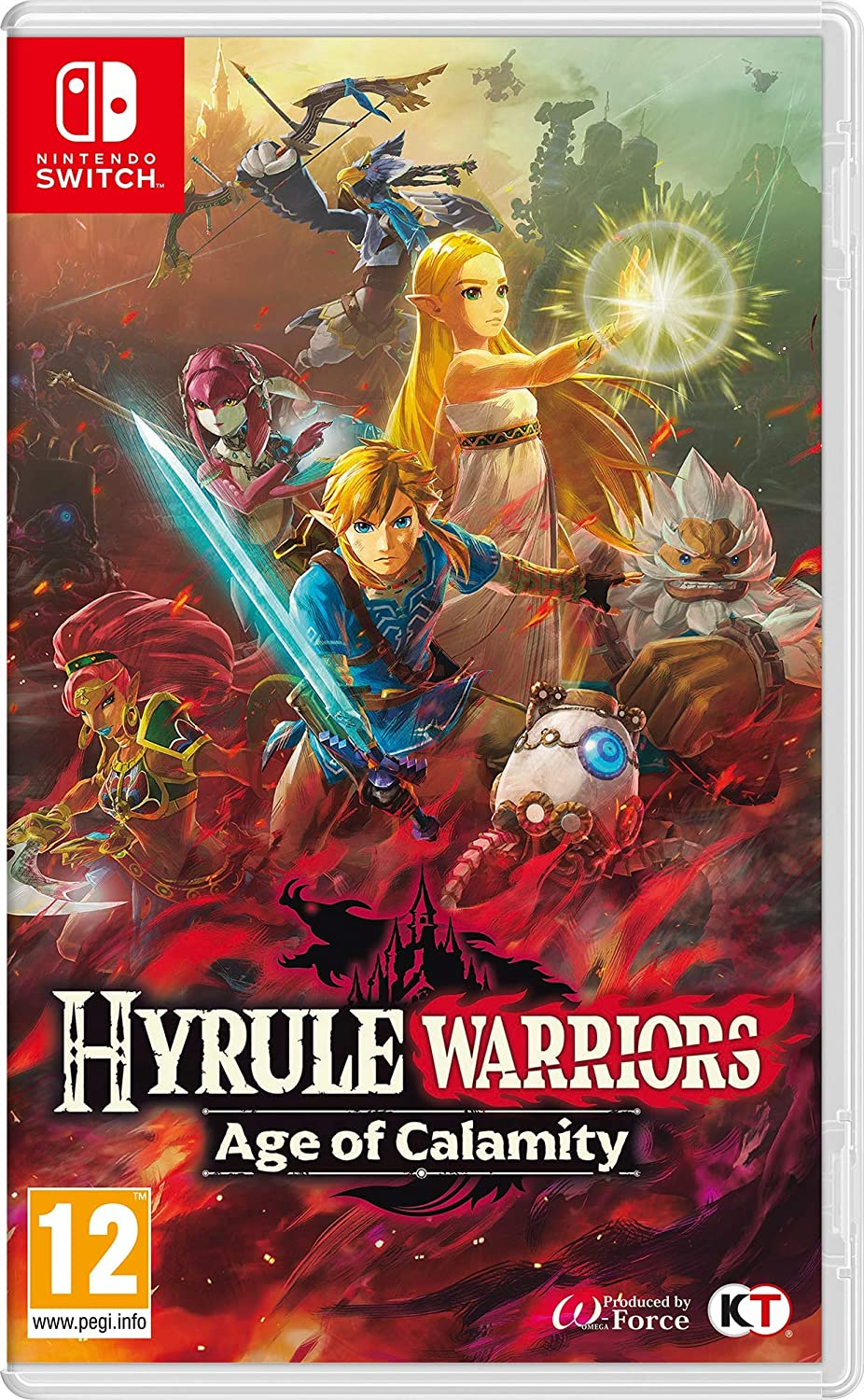 Hyrule Warriors Age Of Calamity Nintendo Switch Amazon Co Uk Pc Video Games