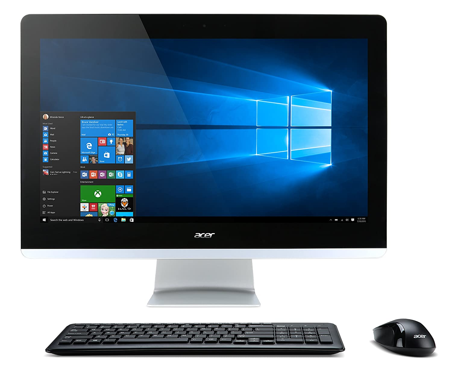 Amazon.com: Acer Aspire AIO Touch Desktop, 23.8\
