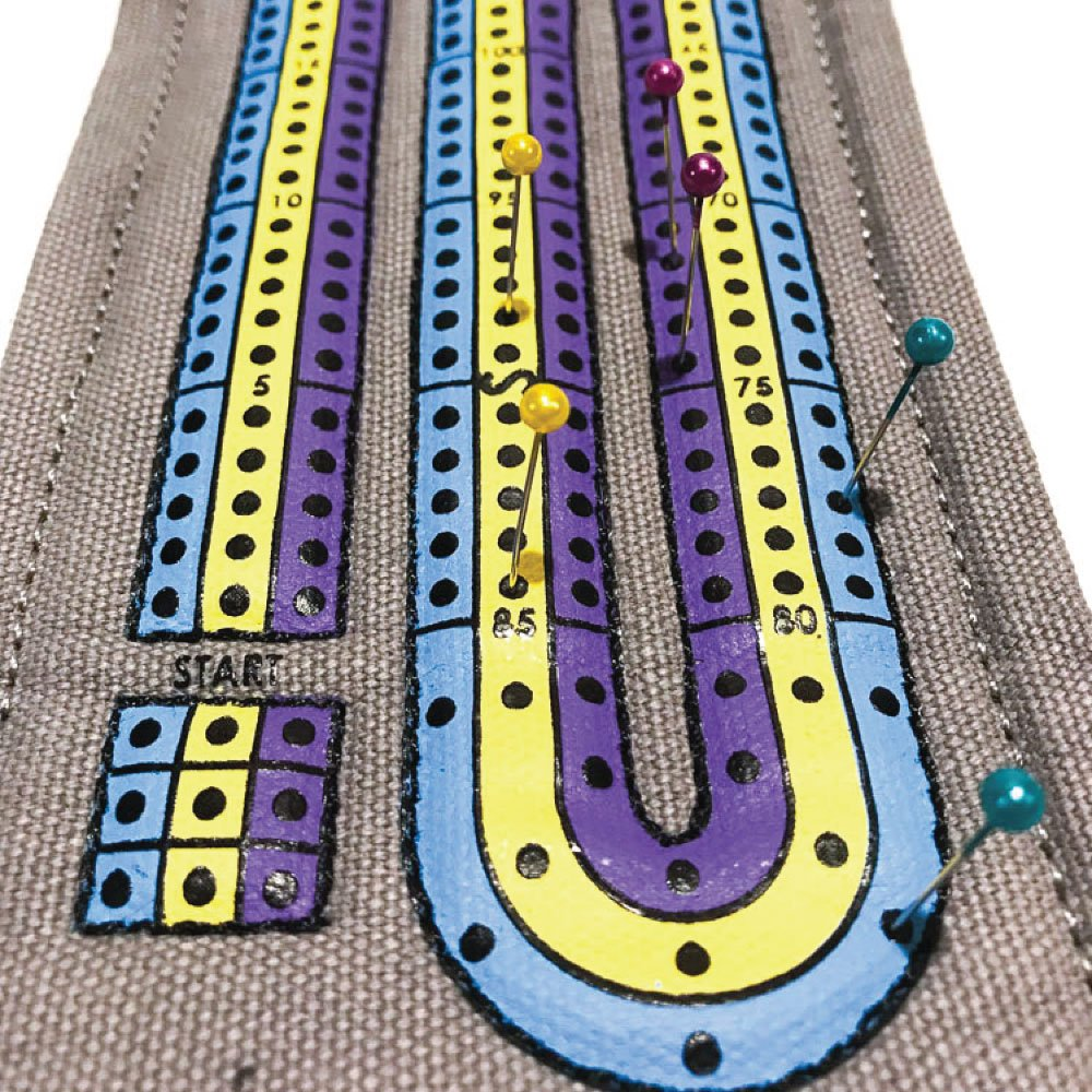 Campfire Cribbage – This unique Playful Nomad board game wraps around a deck of cards making the ultimate travel accessory. Get yours now for family fun on all your adventures! by The Playful Nomad (Image #5)