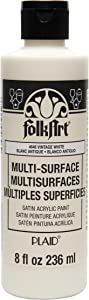 FolkArt Multi-Surface Paint, 8 oz, Vintage White