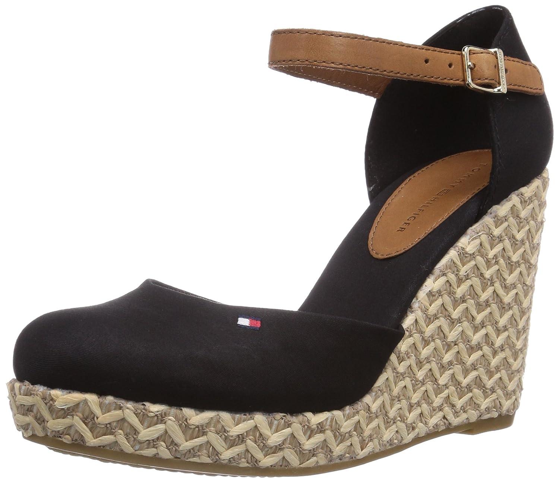 3ac00b227 Tommy Hilfiger Women s EMMA 4D Fashion Sandals Black Schwarz (BLACK 990)  Size  8  Amazon.co.uk  Shoes   Bags