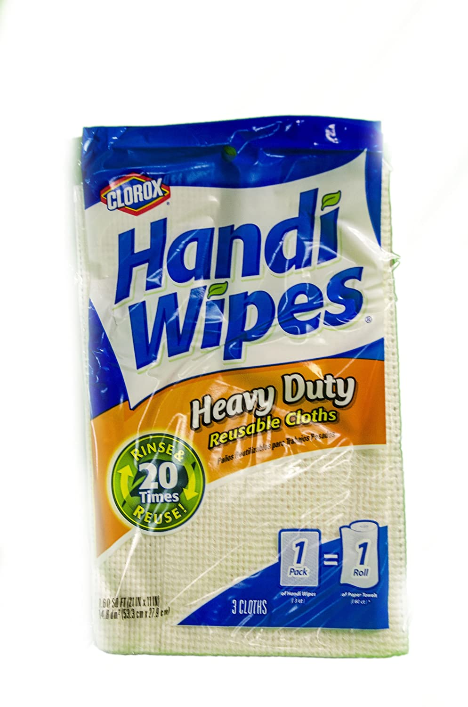 Handi Wipes 78438 Heavy Duty Reusable Wipe (3 Count)
