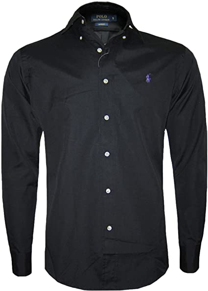 Camisa negra hombre