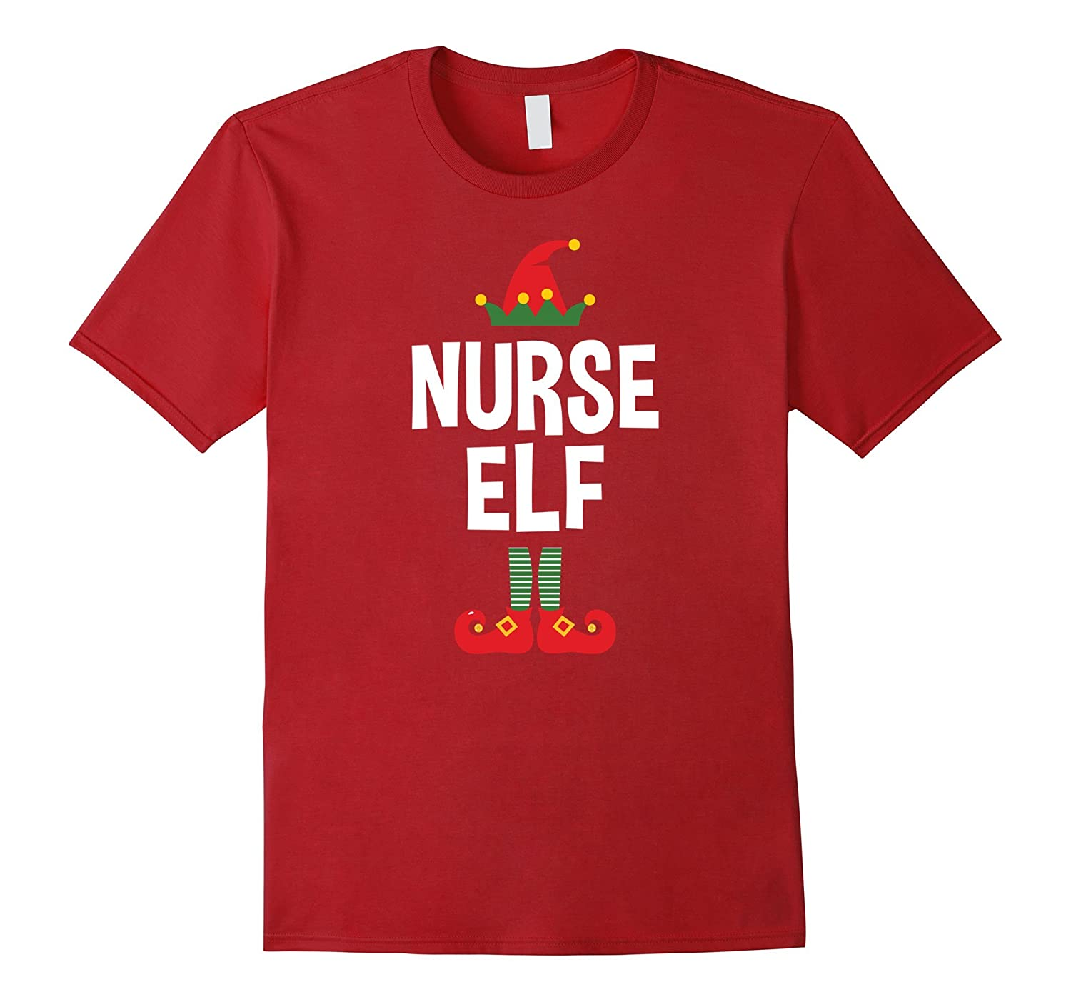 Nurse Elf T-Shirt - Funny Christmas Nurse Shirt-ANZ