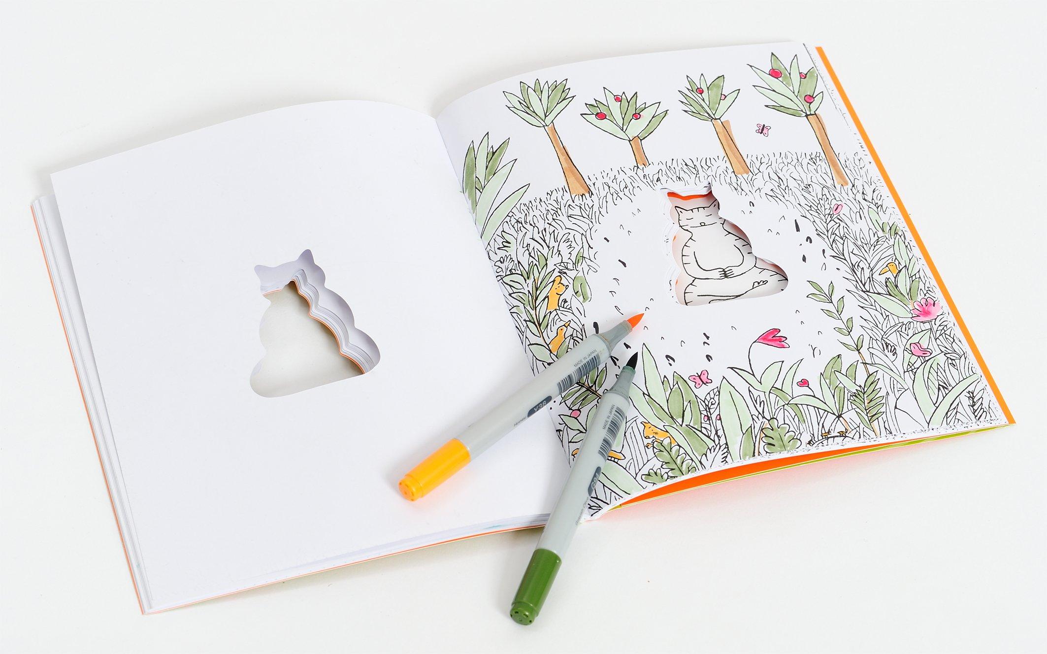 Kat-Zen: Das meditative Malbuch: Amazon.de: Jean-Vincent Sénac: Bücher