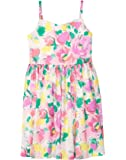 Gymboree girls Floral Strappy Dress Casual Dress