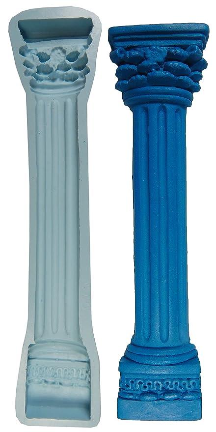 Columna romana O.K moldes de silicona para decorar tartas fondant gumpaste suministro M4694