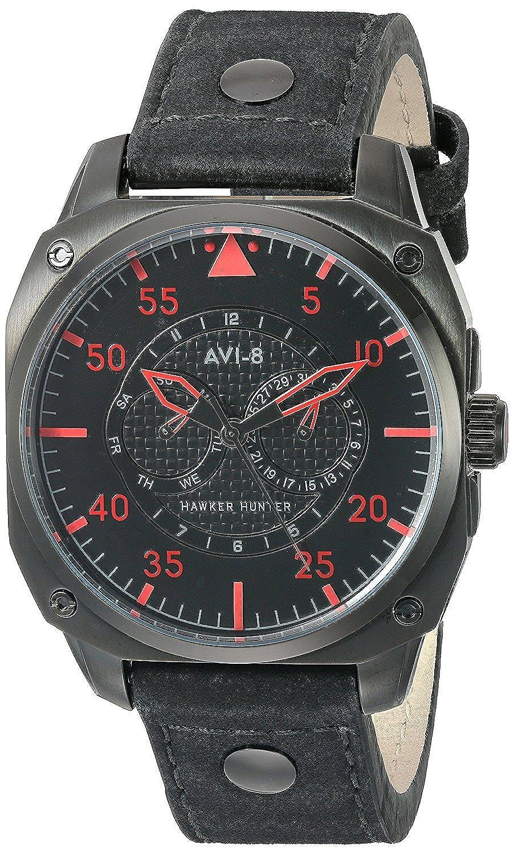 アビエイト 腕時計 英国ブランド ホーカーオマージュ腕時計 カレンダー AV-4009-03 [並行輸入品] B06VWV918K