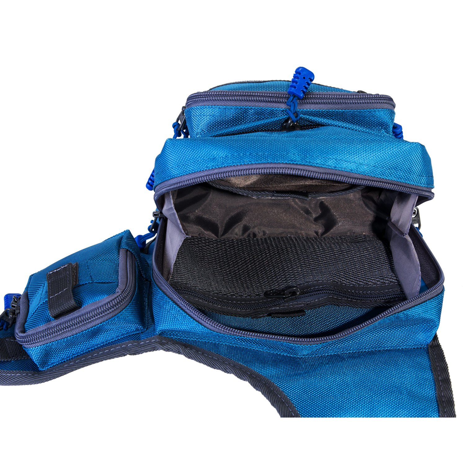 Piscifun fishing tackle bag fishing backpack soft sports for Fishing tackle backpack
