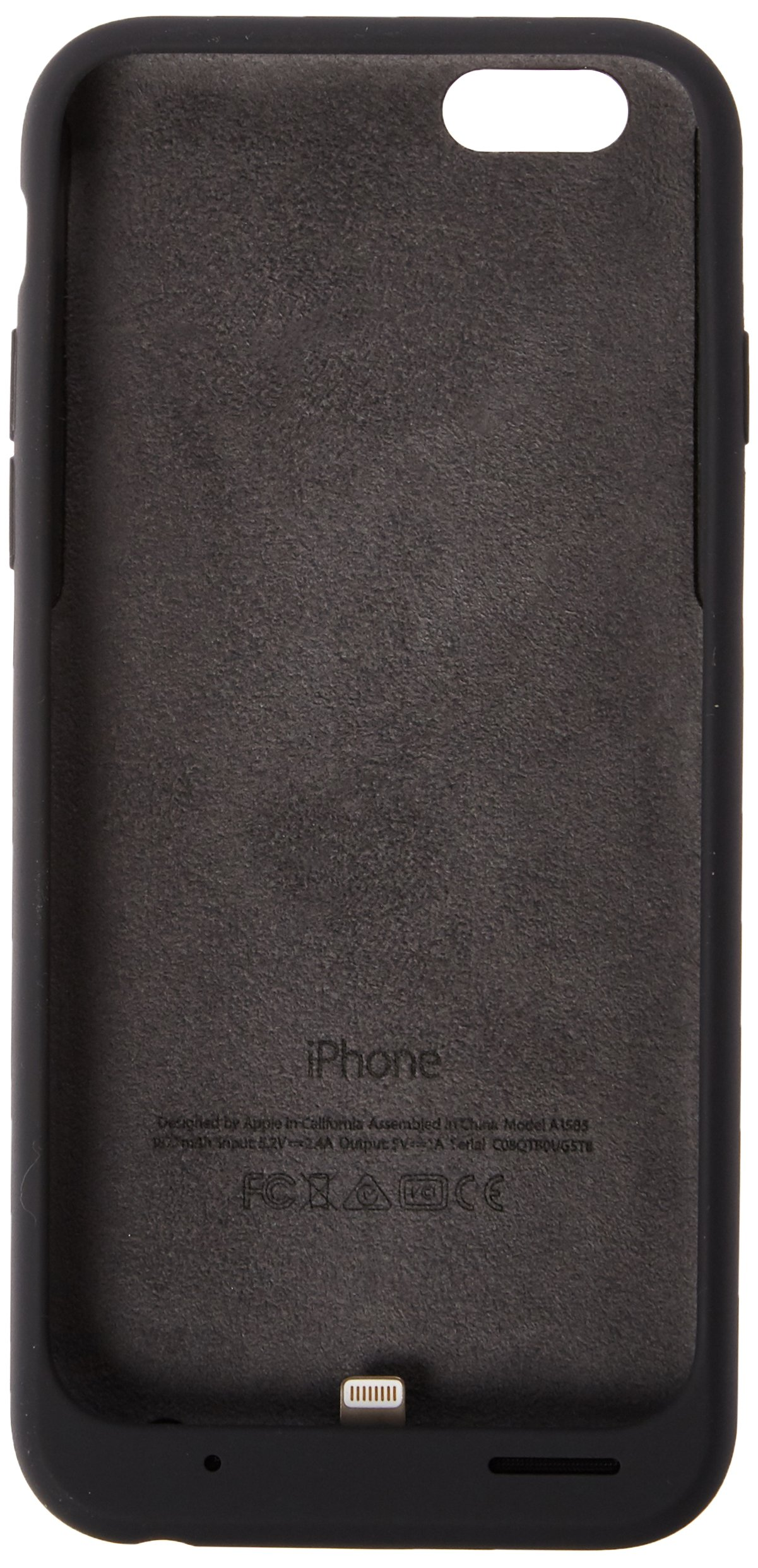 Apple Charcoal Gray Battery Case for iPhone 6 and 6S - Retail Packaging by Apple (Image #2)