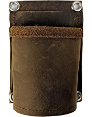 Hammer holder, All Leather, Hammer Holster, for General Contractors, Finish Carpenters, Cabinet Installers, trim carpenters