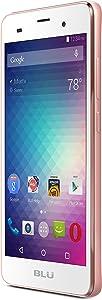 "BLU DASH M2-5.0"" Smartphone - US GSM Unlocked -Rose Gold"