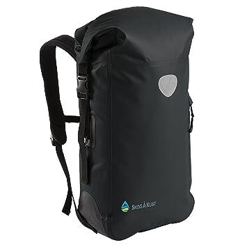 Amazon.com : BackSak Waterproof Backpack: 500D PVC, 35L Black with ...