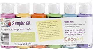 product image for DecoArt DASK279 Crafter's Acrylics Home Décor Brights Sample Pack