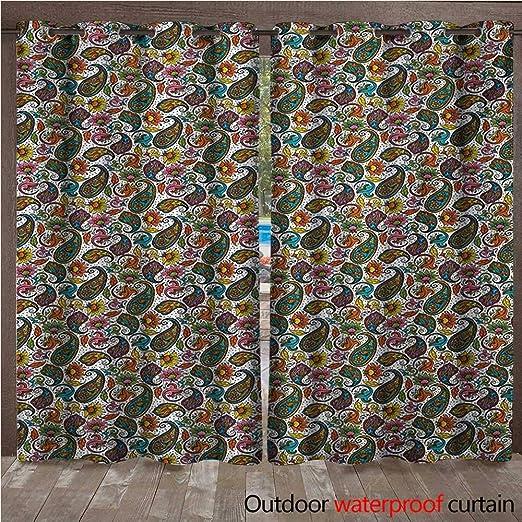 BlountDecor Hippie Panel de Cortina con Ojales, diseño de ...