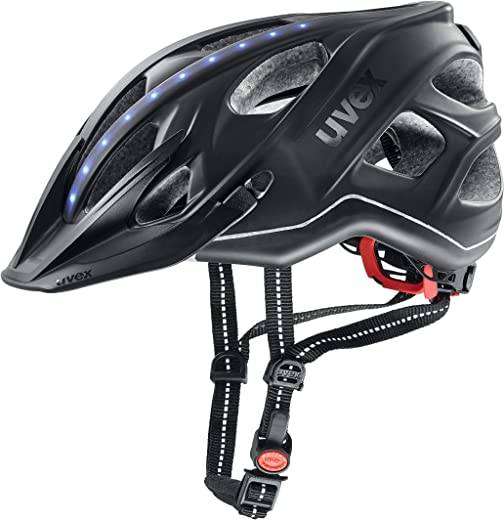 Uvex Unisex– Erwachsene, city light Fahrradhelm