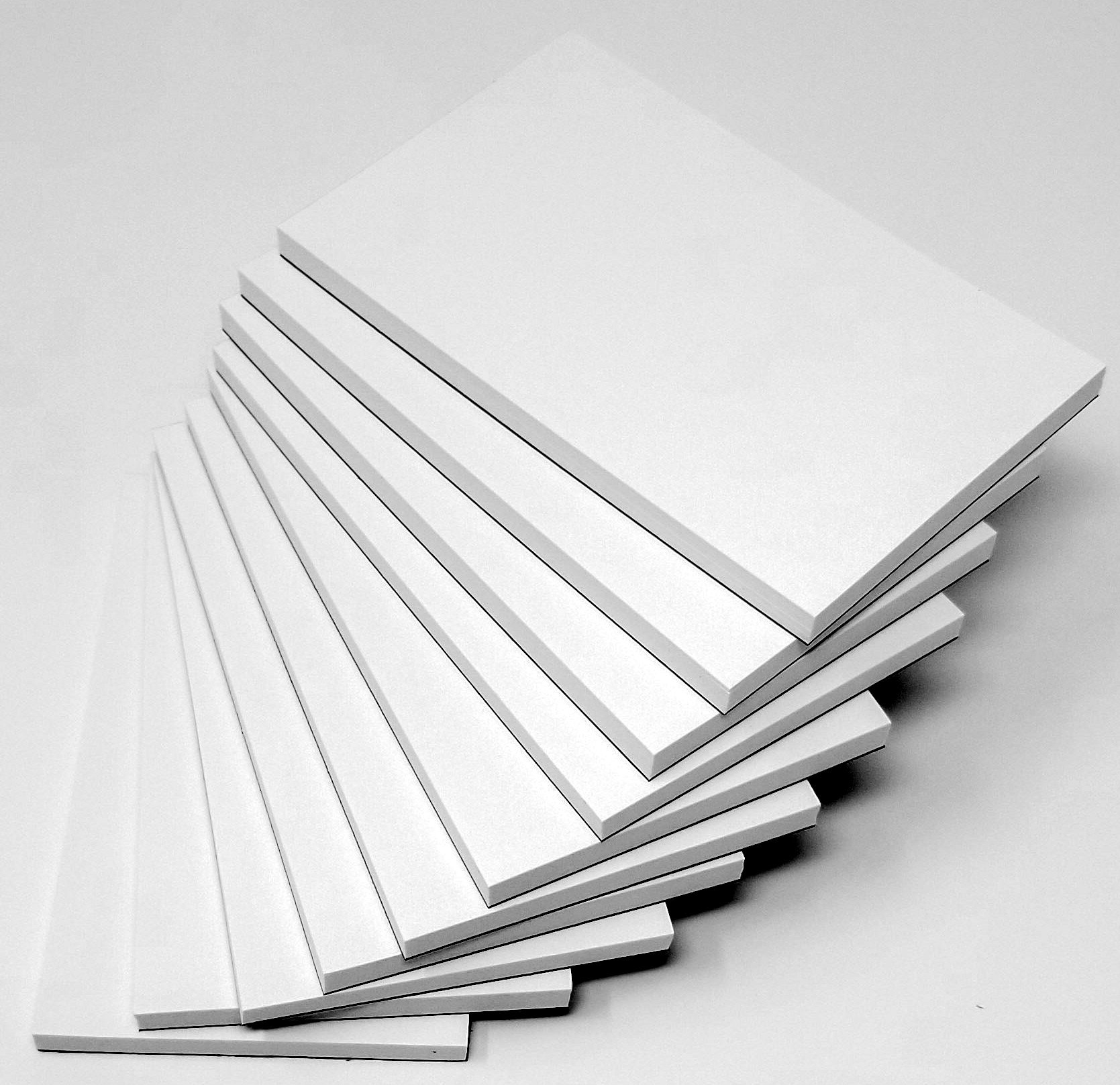 Note Pads-Memo Pads- Scratch pads-Writing pads 10 pads 50 per pad 2.75 x 5
