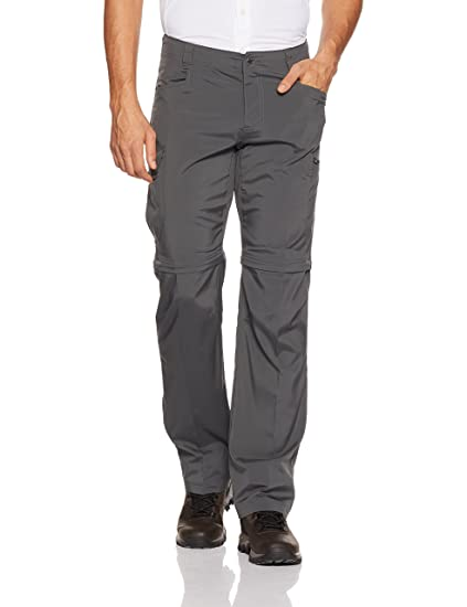 Columbia Silver Ridge Stretch Convertible Pants, Grill, 30x28