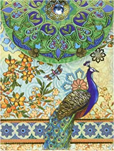Punch Studio Note Pad Pocket Royal Peacock