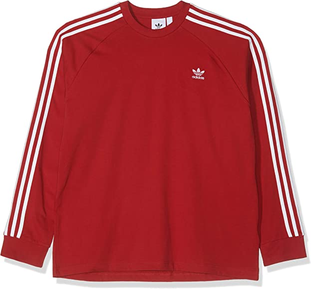 Maglietta Uomo adidas 3-Stripes Longsleeve T-Shirt