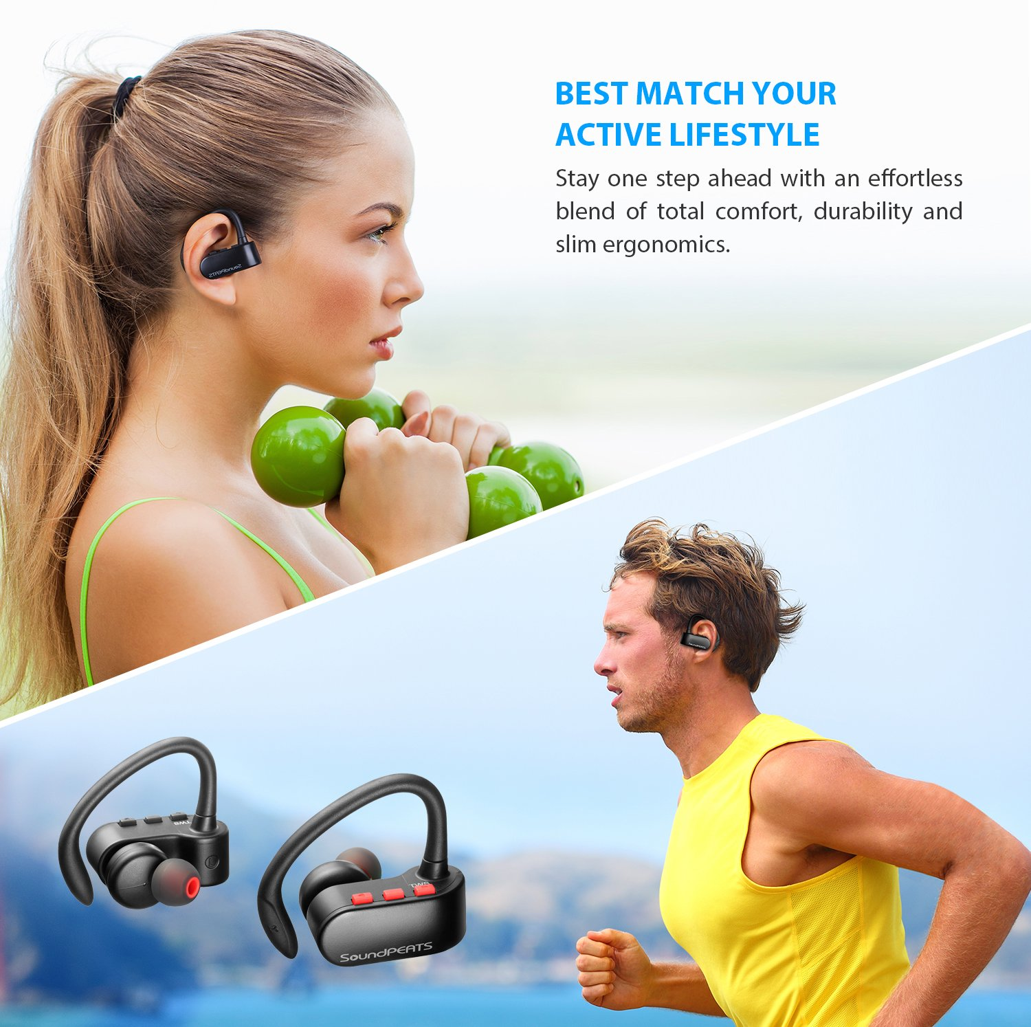 Best cheap true wireless earbuds soundpeats