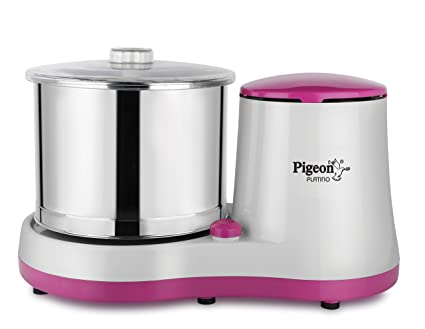 Buy Pigeon Platino 12726 2-Litre Wet Grinder (Multicolor) Online at Low Prices in India - Amazon.in
