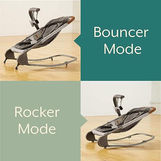 Amazon.com: Nacido gratis KOVA Baby Bouncer - Cochecito de ...