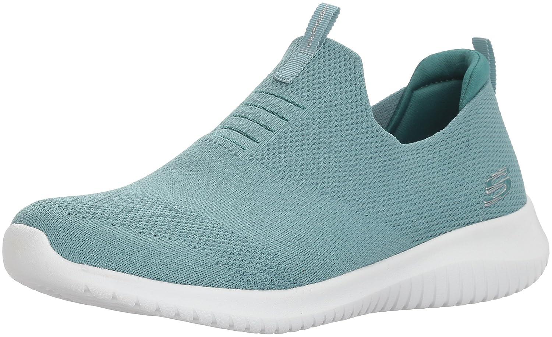 Skechers Ultra Flex-First Take, Zapatillas sin Cordones para Mujer 40 EU Verdesalvia