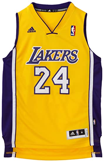 0ce72452e908 Image Unavailable. Image not available for. Color  NBA Los Angeles Lakers  Kobe Bryant Youth 8-20 Swingman Home Jersey ...