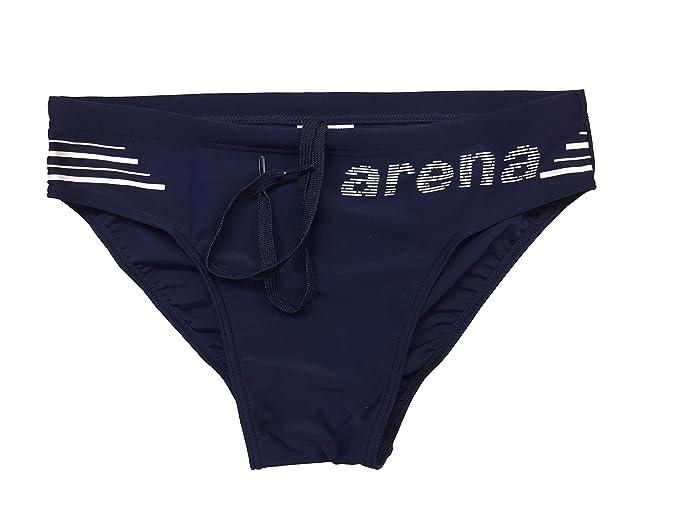 Costume Slip Uomo Arena 000230701 Taglia 44 Costumi Piscina Uomo Arena