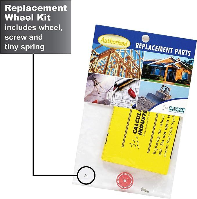 Calculated Industries 5007 Roue de rechange pour kit doutils de d/émontage Scale Master