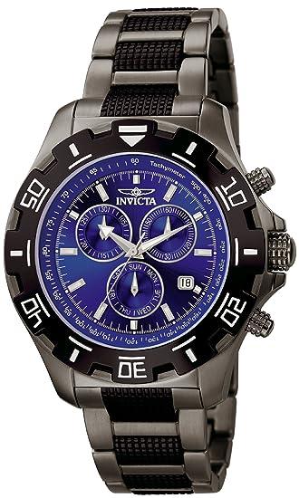 Invicta 6411 Specialty Reloj para Hombre acero inoxidable Cuarzo Esfera azul: Invicta: Amazon.es: Relojes