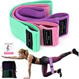 Booty Bands, Non Slip Resistance Bands for Legs and Butt, Workout Bands Exercise Bands Glute Bands for Women, 3 Pack