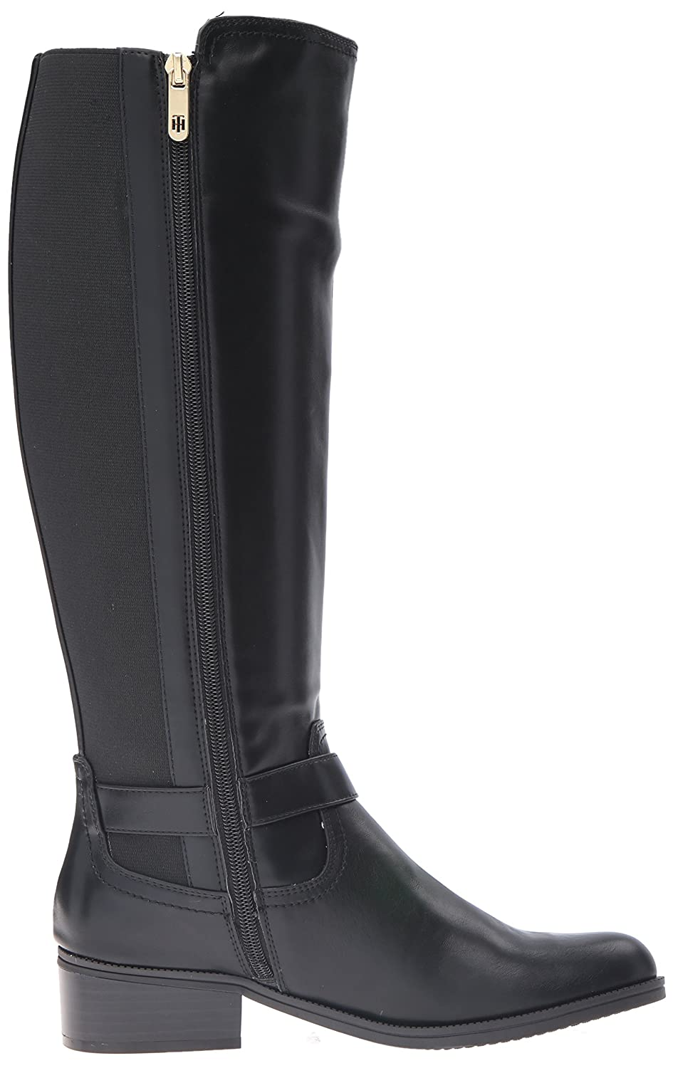 Tommy Hilfiger Women's Global Equestrian US|Black Boot B01END8GYQ 10 B(M) US|Black Equestrian b94953