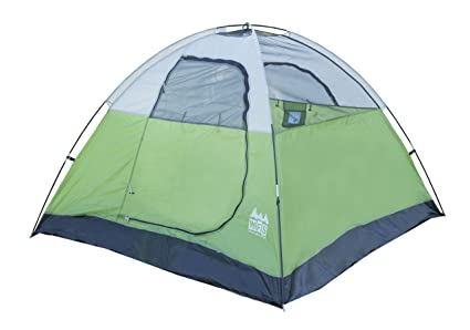 c46a7c8e72 Amazon.com : World Famous Sports 3 Person Camping Tent, Lime Green ...