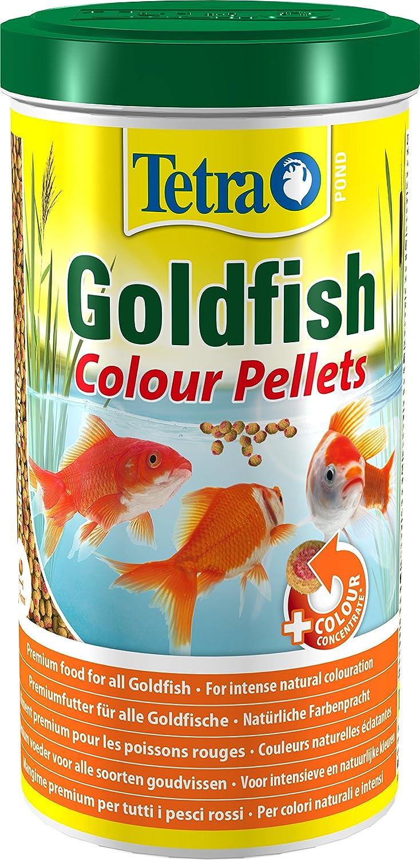 Tetra TetraPOND Goldfish Colour Pellets Mangime per Pesci, 1 L