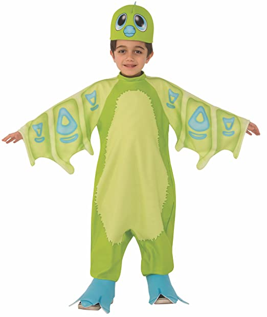 Rubie's Costume Hatchimals Child's Draggles Costume, Green, Medium