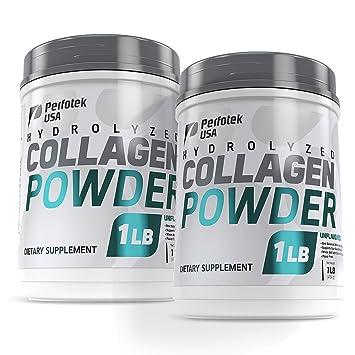 59073ec0bb570 Amazon.com: Perfotek USA Collagen Peptides Hydrolyzed Powder 16oz ...
