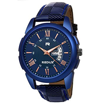 Redux Analogue Blue Dial Watch