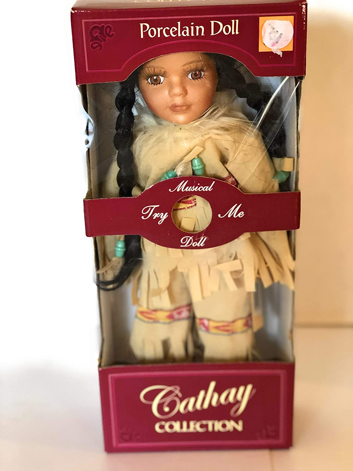 Cathay Collection Dancing Breeze Porcelain Doll