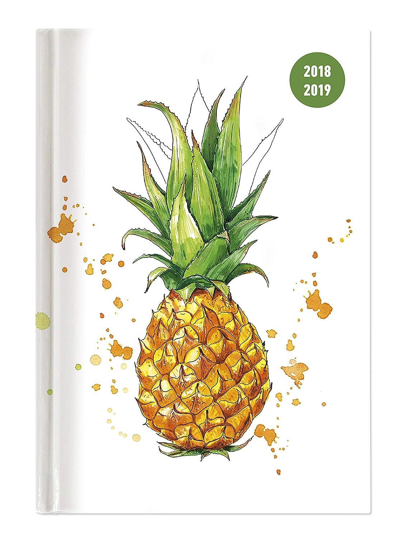"""Diario agenda scuola collegetimer """"Ananas"""" 2018/2019 - Giornaliera - 352 pagine - 15x21 cm Alpha Edition 19.0705"""