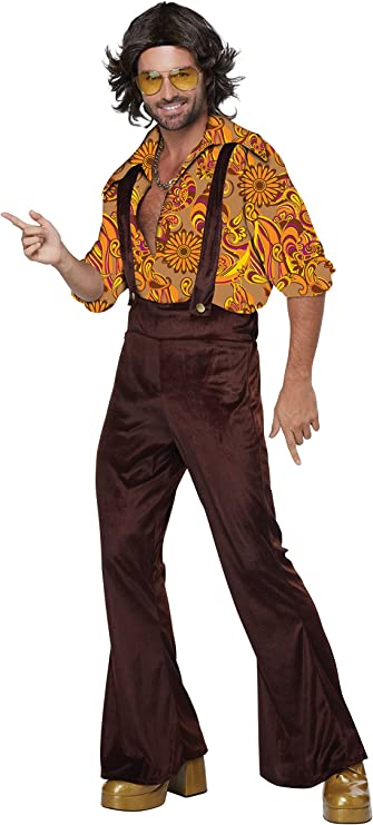 70s Costumes: Disco Costumes, Hippie Outfits California Costumes Mens Jive Talkindisco Dude $59.88 AT vintagedancer.com