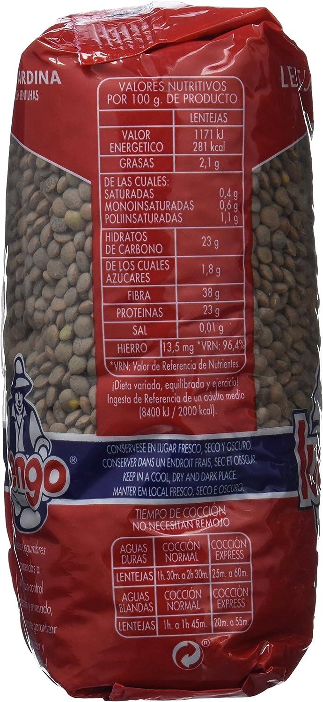Luengo Lenteja Pardina - 500 g: Amazon.es: Alimentación y bebidas