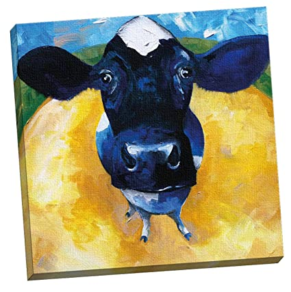 Amazon.com: Portfolio Canvas Decor Cow Tale by Sean Parnell Large ...