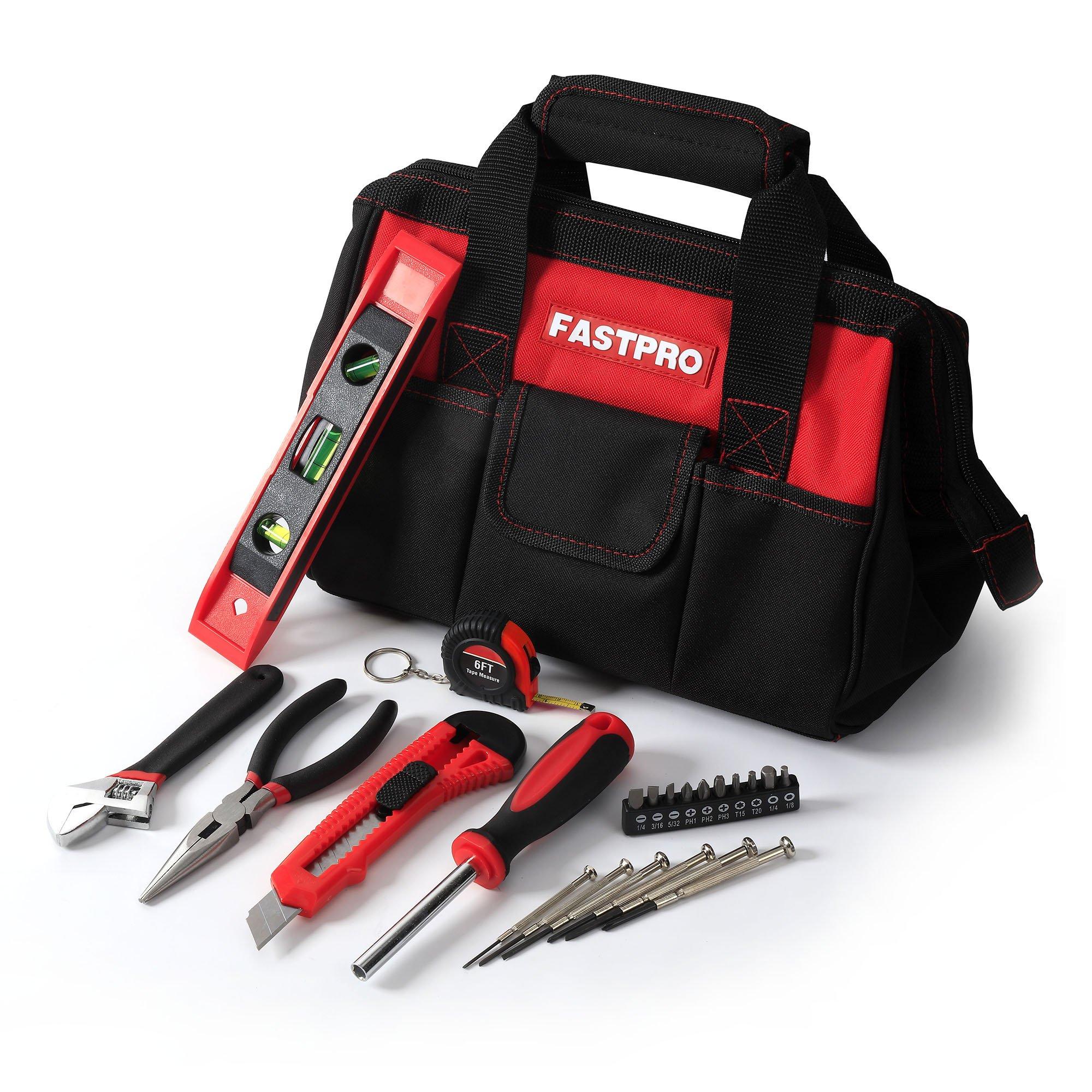 FASTPRO 23-piece Basics Tool Set with Tool Bag by FASTPRO (Image #2)