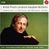 André Previn conducts Vaughan Williams (Coffret 6 CD)